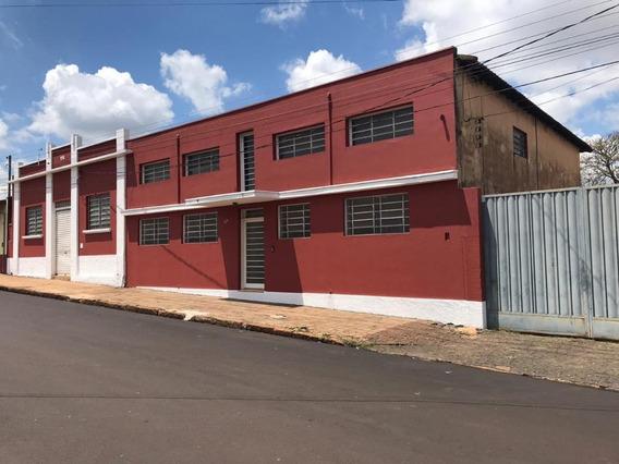 Barracão Comercial Para Locação, Centro, Brodowski. - Ba0001