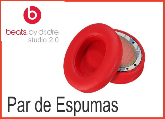 Espumas Para Fones Studio Wireless Modelos 2.0 E 3.0
