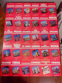 Ciudades Del Mundo:30 Libros + Vhs. No Hago Envios