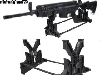 Soporte Para Rifle , Limpieza/excibicion, Rifle Escopeta