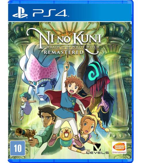 Ni No Kuni - Wrath Of The White Witch Ps4 Midia Fisica