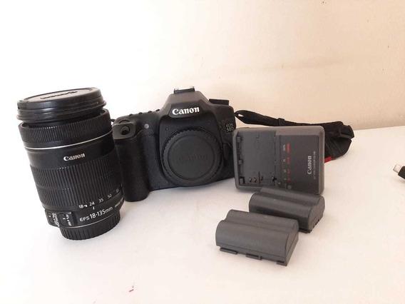 Câmera Fotográficas Canon Eos 50d + Lente 18-135mm F/3.5-5.6