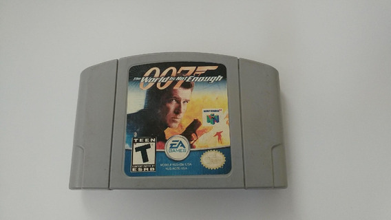 007 The World Is Not Enough Original! Funciona 100% Perfeito