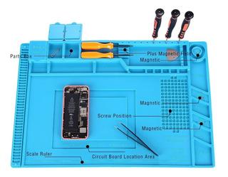 Pad Silicona Aislamiento Para Reparaciónes Magnetica