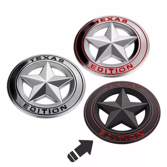 Emblema Texas Edition Americano Ranger Ford Dodge Ram F250
