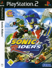 Sonic Riders Play2 Frete Grátis Leia Anúncio