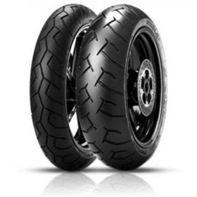 Pneu De Moto Pirelli Diablo 180/55-17 (73w) Traseiro