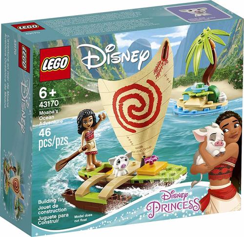 Lego Disney Moana 43170 Aventura Oceánica De Princesas Nuevo