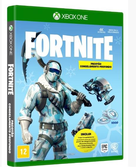 Fortnite Pacotão Congelamento Profundo - Xbox One ( Lacrado)