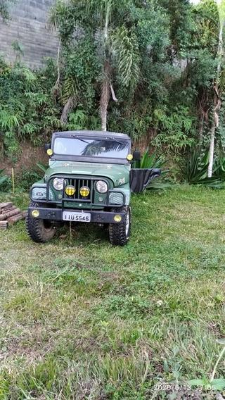 Willys Jeep 4x4 Reduzido