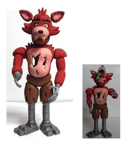 Five Nights At Freddys Figura Foxy The Pirate Articulado Luz