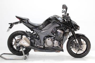 Kawasaki Z 1000 Abs 2015 Preta