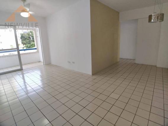 Apartamento Com 3 Quartos Para Alugar, 80 M² Por R$ 2.200/mês - Boa Viagem - Recife/pe - Ap2256