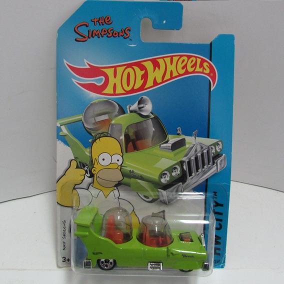 Escala 1/64 Mattel Hotwheels The Homer Hw City Jorgetrens