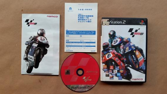 Moto Gp Ps2 Original Japones Completo Com Folheto Frete $12
