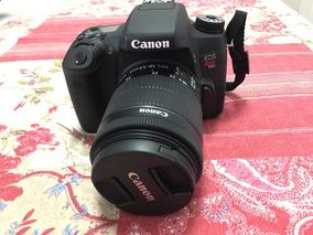 Câmera Canon T6s Pouco Usada Com Lente
