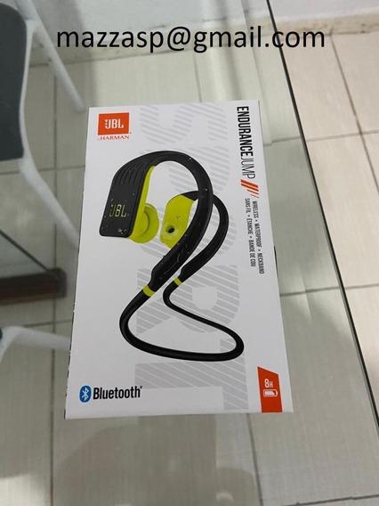 Fone De Ouvido Jbl Endurance Jump Preto/amarelo Bluetooth.
