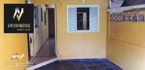 Imagem 1 de 30 de Casa Com 4 Dormitórios À Venda, 140 M² Por R$ 400.000 - Vila Helena - Santo André/sp - Ca0736