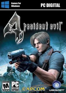 Resident Evil 4 Pc Entrega Inmediata Digital