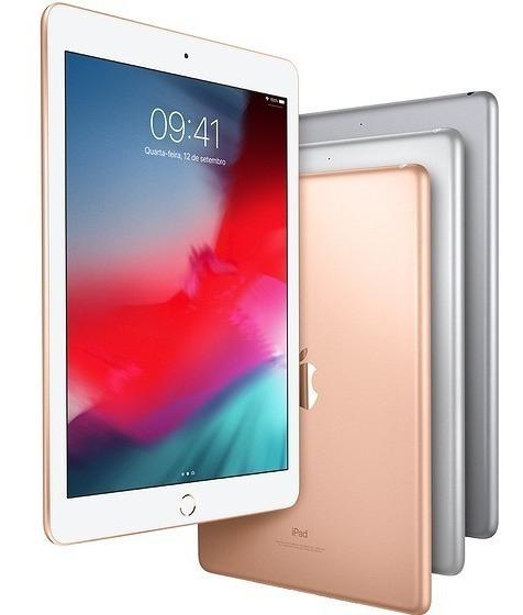 Apple iPad New 128gb 9.7 Pol Lacrado 2018 + Nota Fiscal