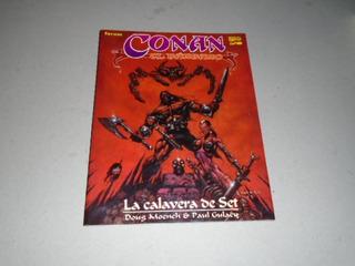 Qw Conan El Barbaro La Calavera De Set - Moench- Marvel