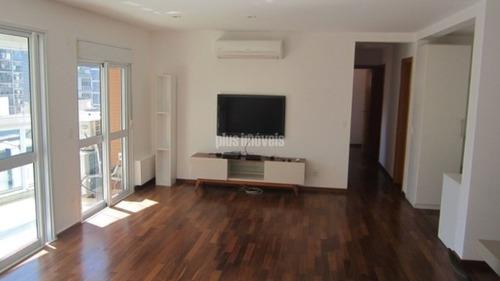 Imagem 1 de 15 de Apartamento Com 3 Suítes, 3 Vagas Com Vista Panorâmica Em Andar Alto Na Vila Olímpia - Pp20058