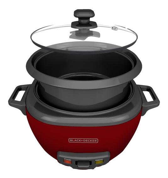 Olla Arrocera Cocción Black + Decker Eléctrica Antiadherente 14 Tazas 3 Litros