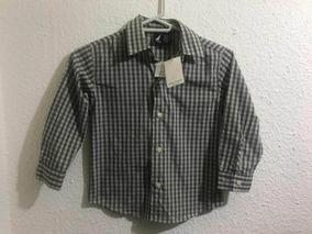 Camisa Náutica Para Niño Talla 4 Nueva Original No adidas Mk