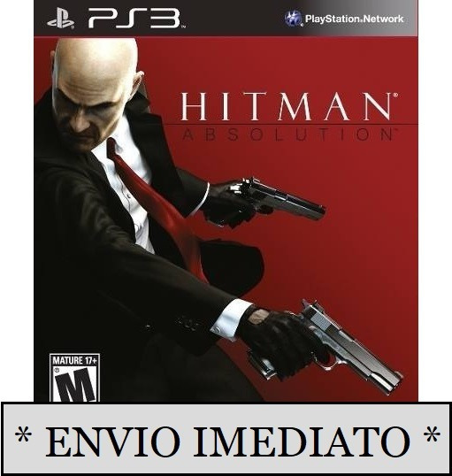 Hitman Absolution Ps3 Psn Mídia Digital Envio Imediato