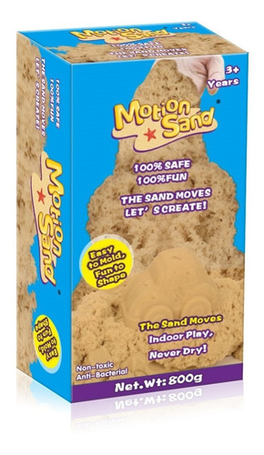 Arena Magica Motion Sand Masa Repuesto Ms-800g Educando Full