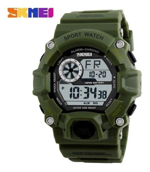 Relógio Masculino Skmei 1019 Digital Militar