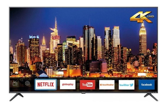 Smart Tv Led 58 Polegadas Ptv58f80sns Ultra Hd 4k Philco