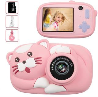 Camara Digital Para Niña Hd 1080p Fotos Y Video