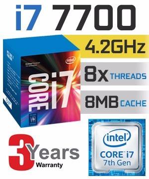 Kit Intel 7ª Geração I7 7700, 16gb Ddr4, Placa Ga H110m-h