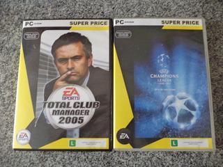 Jogos Futebol Antigos - Uefa Champions League E Total Club