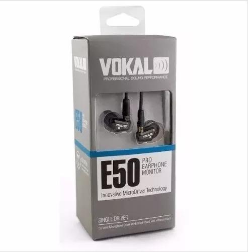 Monitor De Palco In Ear Profissional Vokal E50 Pro