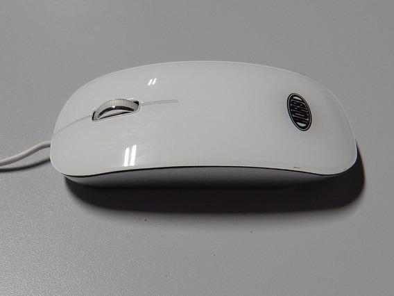 Mouse Óptico Usb De Alta Precisão Branco