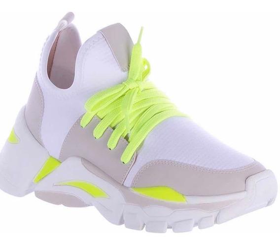 Tênis Casual Super Chunky Dad Sneaker Zatz Neon Lançamento