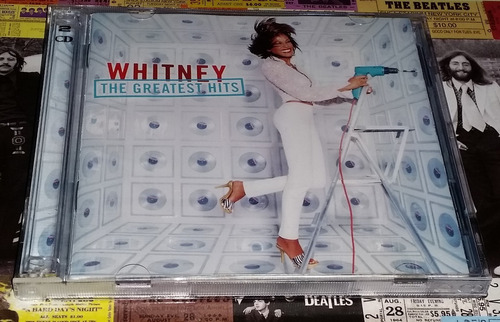 Whitney Houston - Greatest Hits - Cd Doble 2000 Promo Nuevo!