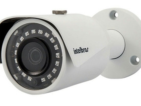 Kit Camera Seg. Bullet L364x1 Univ.ahd Vtv Intelbras