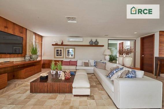 Casa Com 5 Dormitórios Para Alugar, 450 M² - Pirangi Do Norte (distrito Litoral) - Parnamirim/rn - Ca0158
