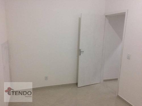 Imagem 1 de 7 de Imob01 - Sala Comercial 12 M² - Campestre - Santo André/sp - Sa0009