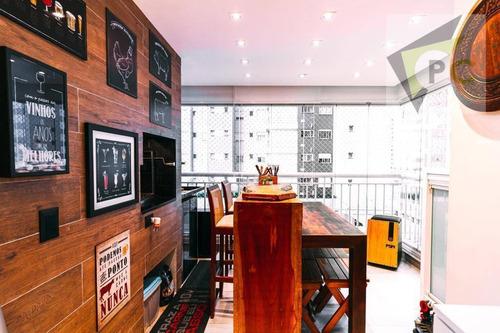 Imagem 1 de 30 de Apartamento Com 2 Dormitórios À Venda, 69 M² Por R$ 840.000 - Várzea Da Barra Funda - São Paulo/sp - Ap0538