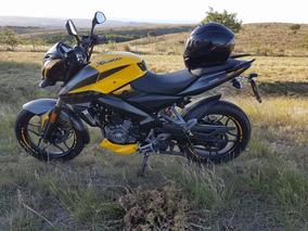 Rouser Ns200 Amarilla 3000km