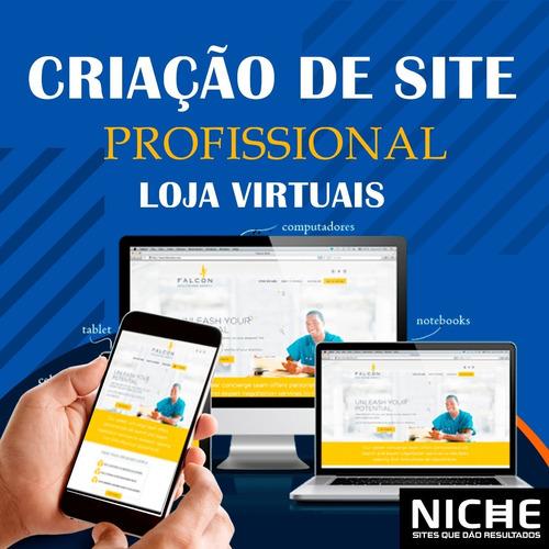 Criação De Site Profissional E Loja Virtual