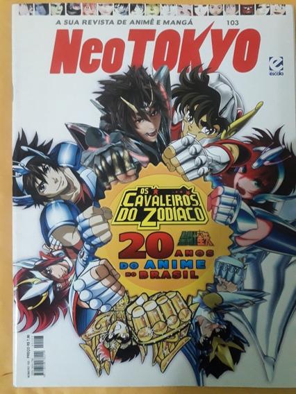 Revista Neo Tokyo N°103 - Especial Os Cavaleiros Do Zodíaco