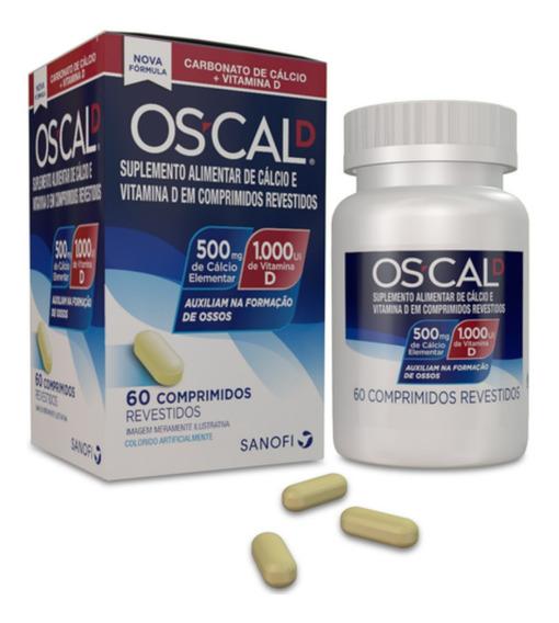 Oscal D Suplemento Alimentar 500mg + 1000 Ui 60 Comp.