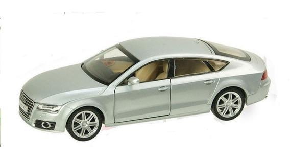 Auto De Coleccion Audi A7 Escala 1:24 Msz Con Luz Y Sonido