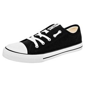 Tenis Sneaker North Star Niños Textil Negro C60328 Dtt