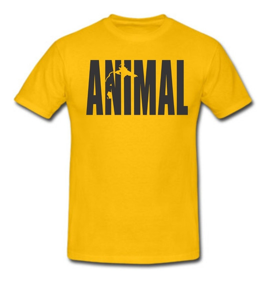Remeras Animal Gold Gym Universal Culturismo A Todo El Pais